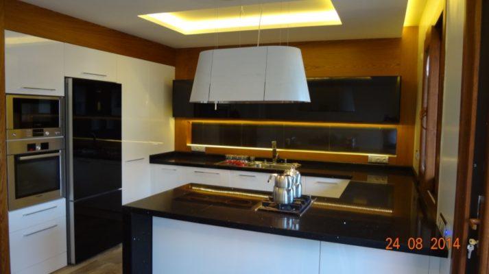 yarımada tipi mutfak dolabı mutfak tadilatı Ankara