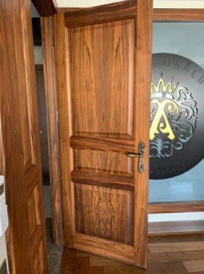 ahşap kaplamalı kapı & mobilya kapı modelleri